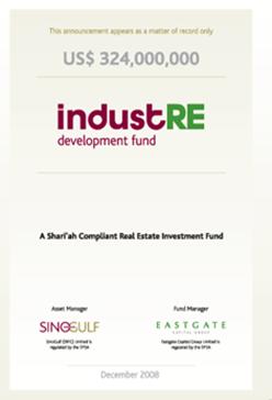 SinoGulf Investments industRE